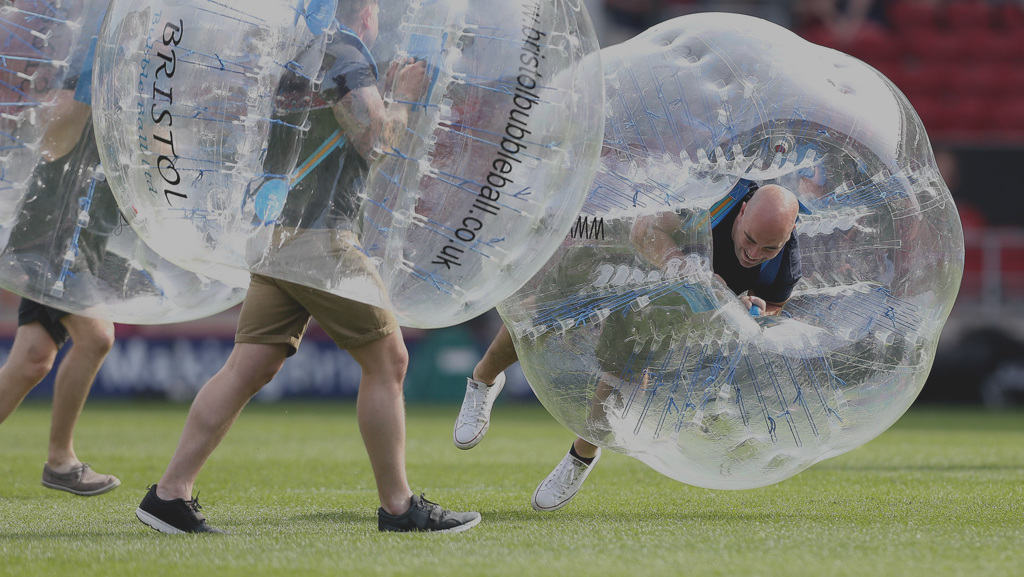 Top Tips For a Great Bubble Football Game